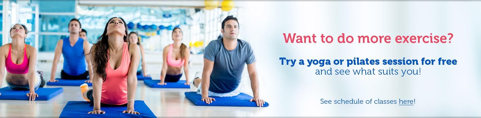 Yoga si Pilates