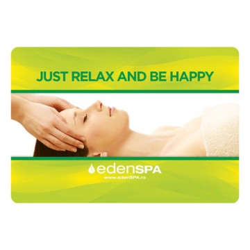 Card Cadou Masaj Facial | Just Relax and Be Happy