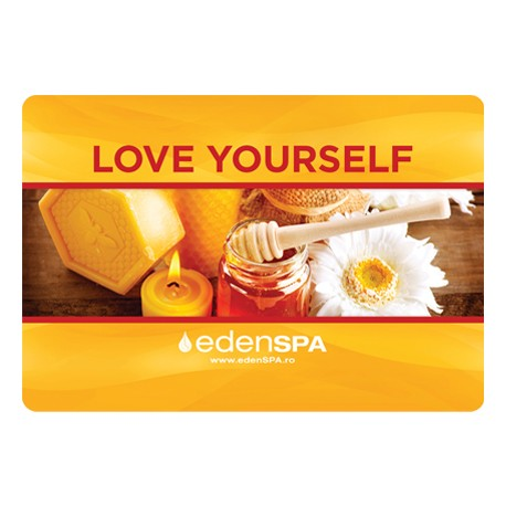Card Cadou Exfoliere, Impachetare | Love Yourself