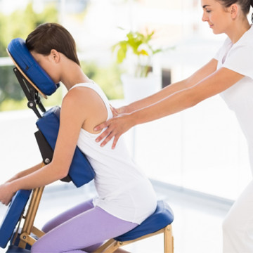 Thay Yoga Chair Massage