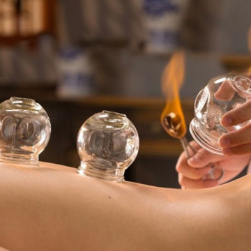 Cupping Therapeutic Massage 75'